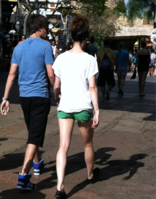 Liam et Danielle à Orlando.♥