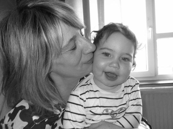 Camille bb et sa Mamy