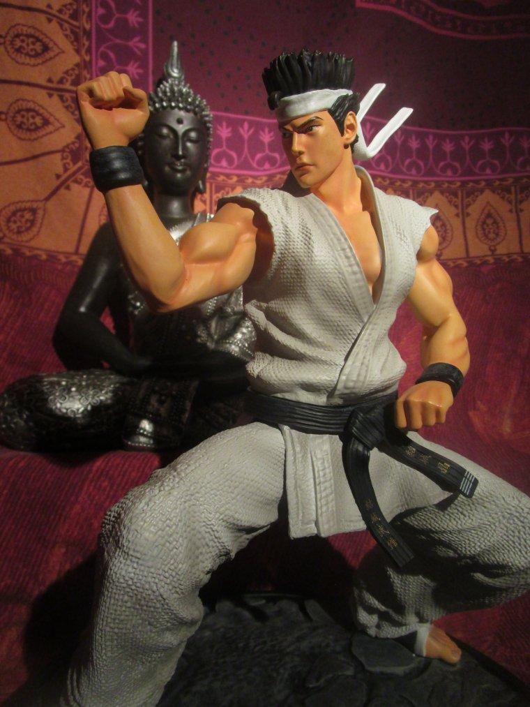 (Unboxing) Akira Yuki - (Virtua Fighter) First 4 Figures *statue résine limitée*