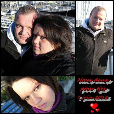Moi et mon chéri !!!!