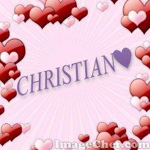 christian tu es le seul