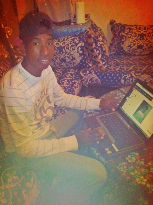 me with my laptop