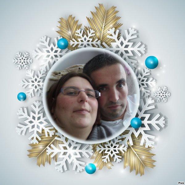 Noël Flocons Hiver