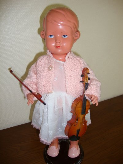 mon violon est accordé.