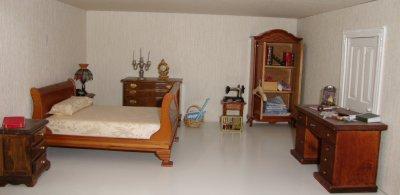 la chambre des parents .
