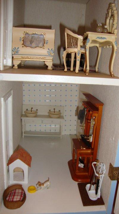 voyons d'un peu plus prés les différentes pièces de la maison.