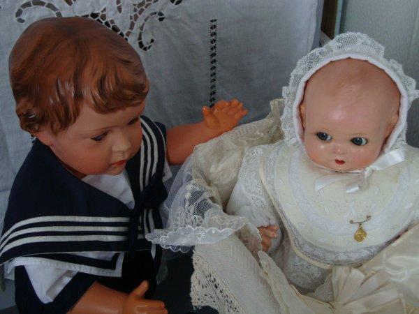 claudinet et le bébé...