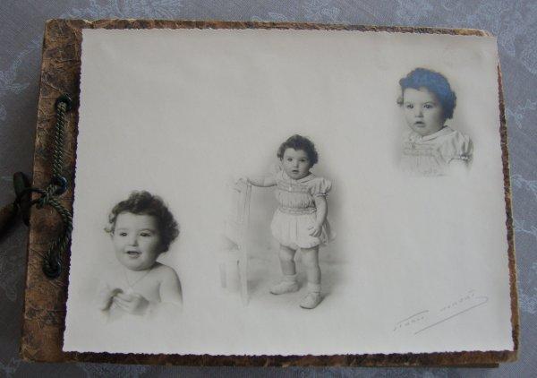 chine du jour pas de poupées mais de jolies photos anciennes comme je les aime .