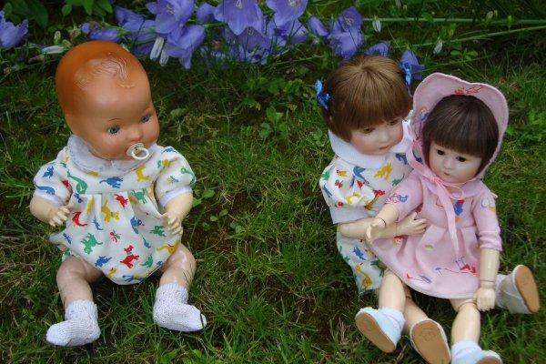 vite au jardin les enfants.....le soleil est là!.........
