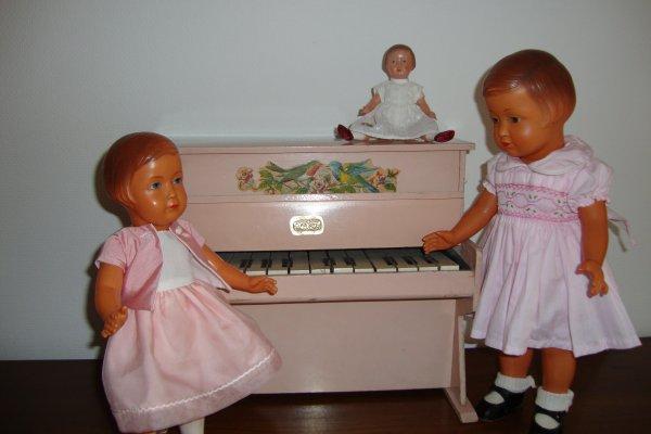 la leçon de piano.
