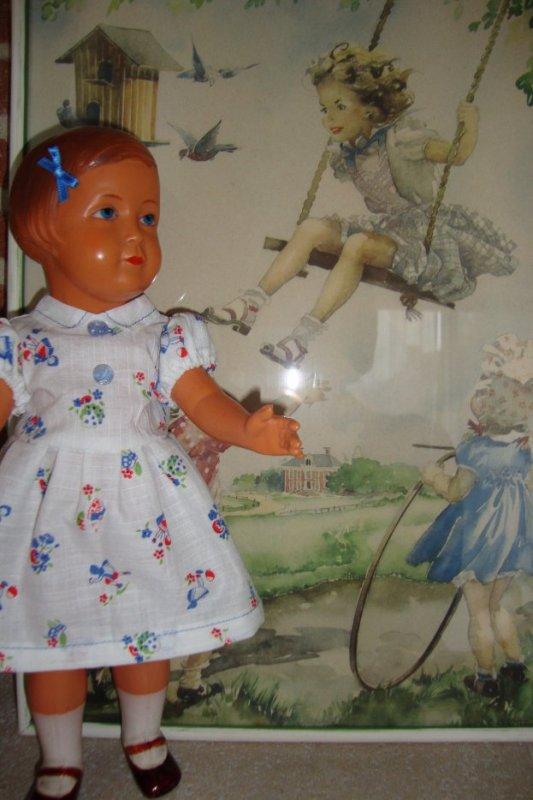 LE SOLEIL EST LA......LES CRIS DE JOIE DES ENFANTS RESONNENT A NOUVEAU AU JARDIN.  JOSETTE  ATTEND SAGEMENT SON TOUR .....