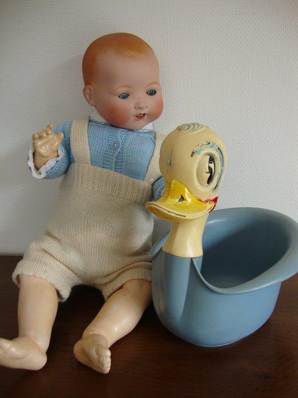 voici après une petite réparation la tête du bébé musical .