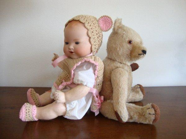 Mes petits oursons vous souhaitent une bonne journée. ..