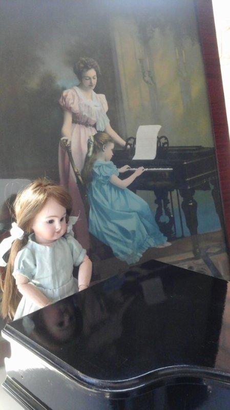 """""""CONCERTO POUR DEUX PIANOS  """"    DERNIÈRES RÉPÉTITIONS AVANT LA FÊTE DE ST CÉCILE LE 22 NOVEMBRE ."""