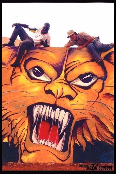 dakar senegal 2002 :hozoi bears maks