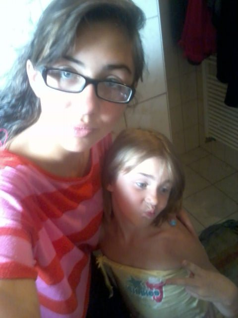 Ma petite soeur & moi:)♥