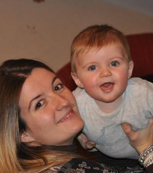 Mathys quand il avait 6 mois