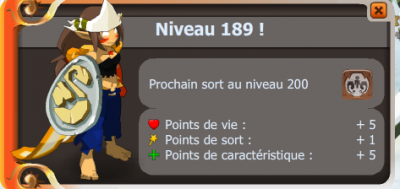 Up 189 enfin!!