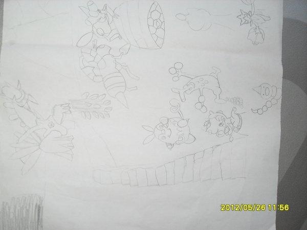 mes dessins pokemon