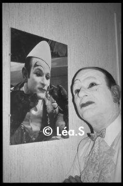 le Clown,  chez lui ... à Cheroy (1994) - photo Léa.S