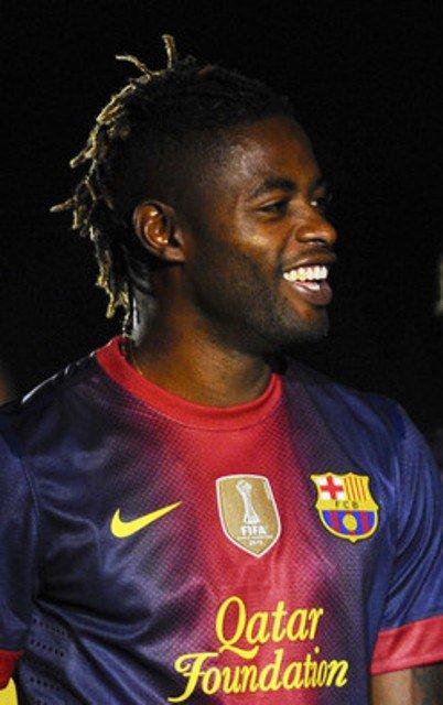 Alex Song : Barça new player. Welcome Alex !