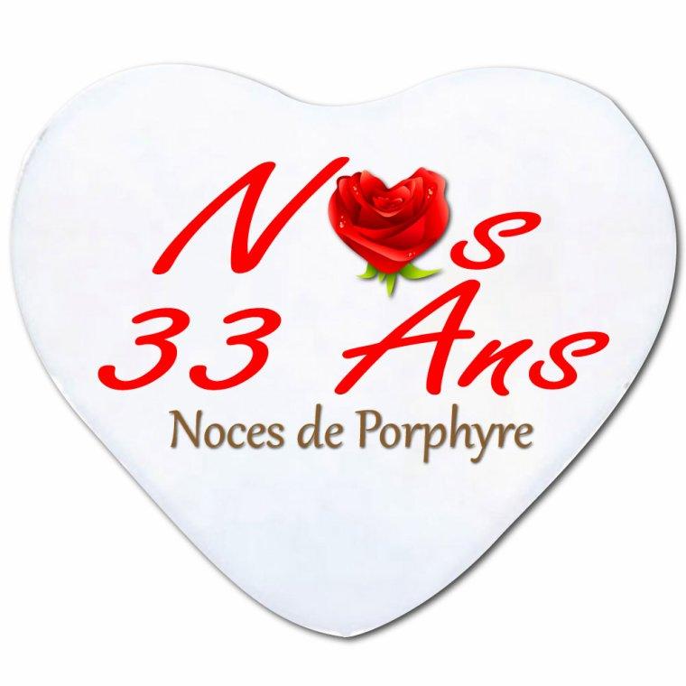 (l) LE 30 DECEMBRE JE FETE MES 33 ANS DE MARIAGE !!! (l)