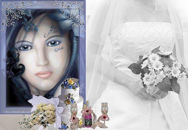 MERCI A MA CHERE AMIE DANNYMARY POUR CE TRES BEAU CADEAU DE MARIAGE !!!
