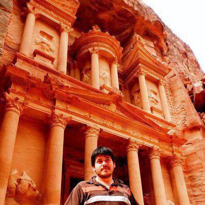 Petra,Jordanie