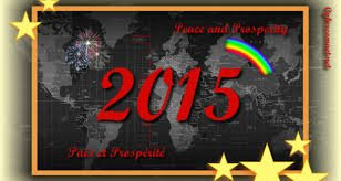 Bonne année 2015 et plein de bonnes choses: sexe, sexe & sexe !