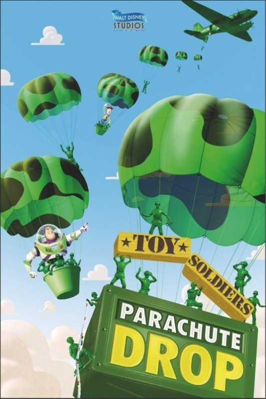 Toy Story Mission Parachute