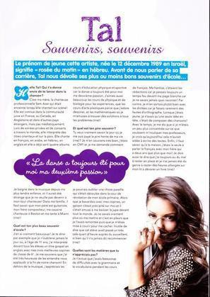 Magazine Sp 233 Cial Tal Star Gloss Blog De Tal Worldsource