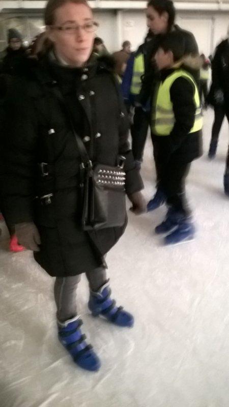 moi a la patinoire de belgique