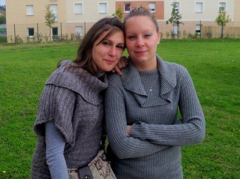 Audrey et moi !!!