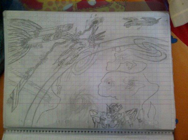Mes récent dessin!