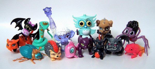image animaux monster high