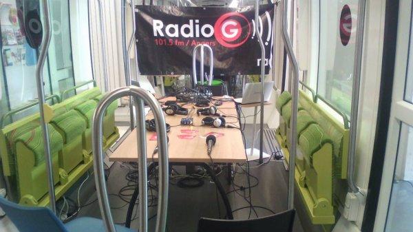 En direct Du J Connecté Pour Un Atelier Radio  Angevine Radio G !