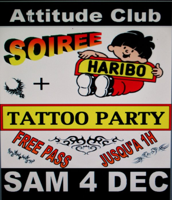 SOIREE HARIBO & TATTOO A GOGO