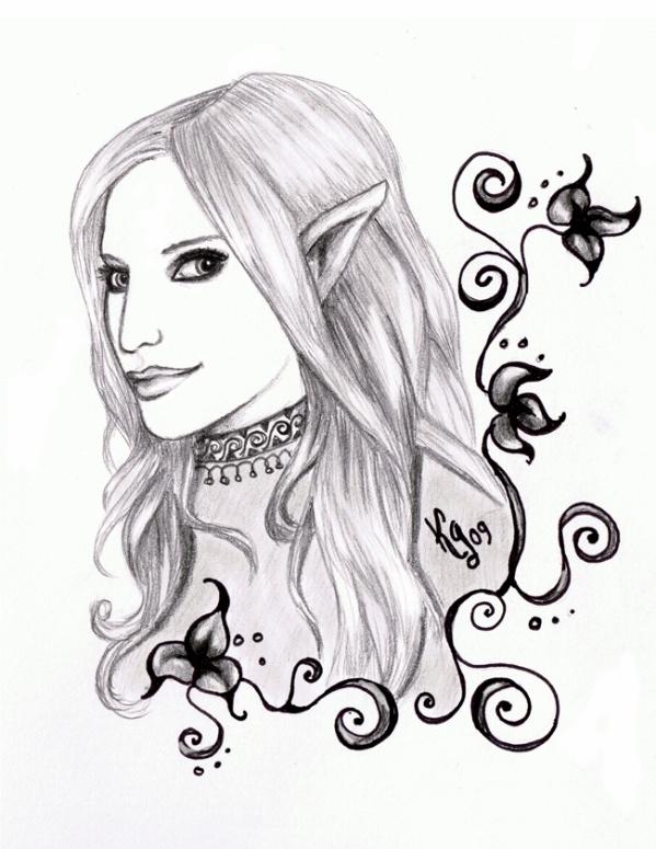 Petite Elfe Karyn Art