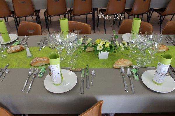 Déco Mariage ,la touche finale , les tables .