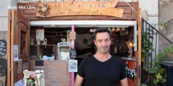 Gilles Nocca Potier cafetier