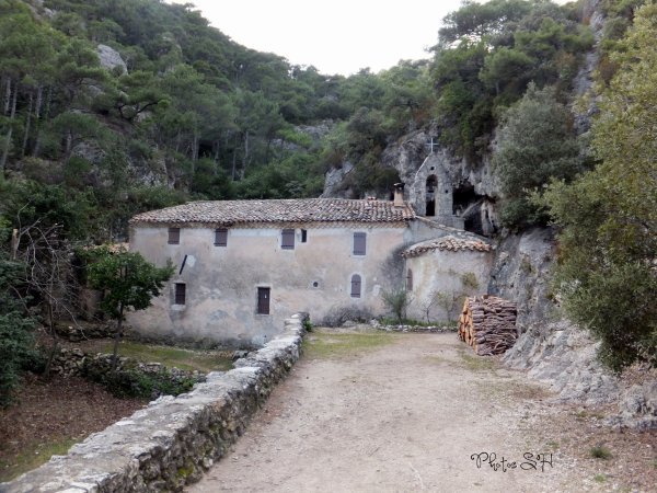 Saint Guilhem- le- Désert l'Ermitage
