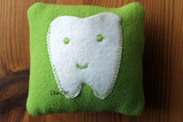 mini coussin pour dents de lait