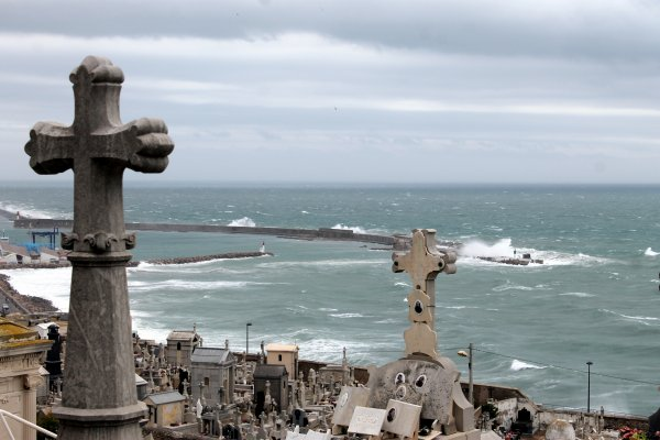 Aujourd'hui tempête sur Sète