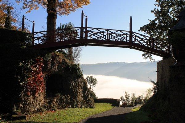 Vallée du lot ( Nord Aveyron)