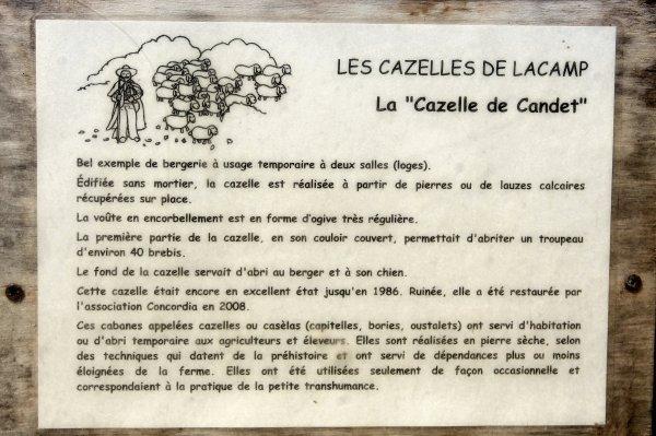 les Cazelles randonnée Larzac