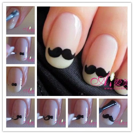 Tutoriel Nial Art. Moustache