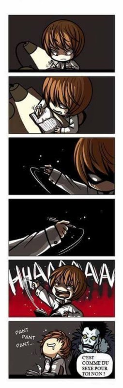 Death Note U-U....