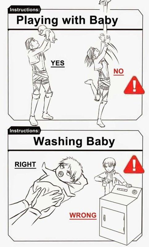 Comment élevé un Bébé ....