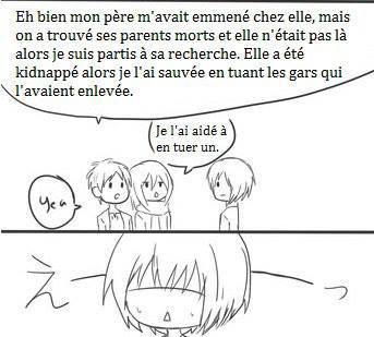 La rencontre de Armin et Mikasa