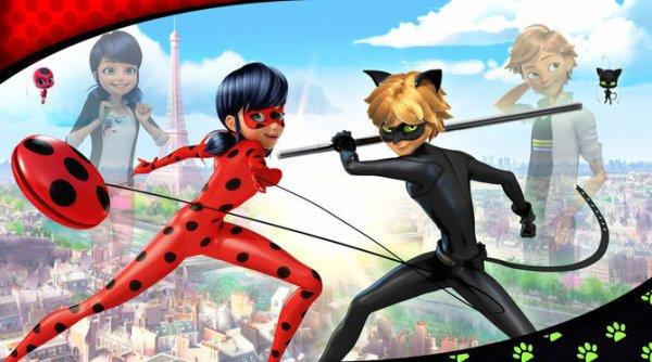Les aventure de Miraculous LadyBug et Chat Noir